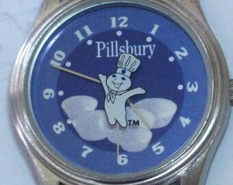 Brand-New Collectors Pillsbury Watch! Pillsbury Dough Boy Watch! Retired!