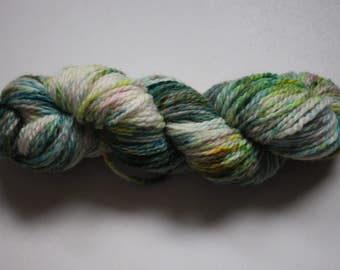 Aran - 100% British Bluefaced Leicester (superwash) yarn - blossom