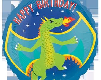 "18"" Dragon Balloon /dragon theme / Knights theme / medieval / kings party / dragons theme"