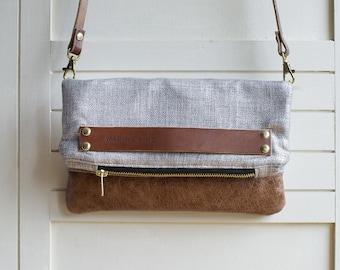 leather clutch, leather handbag, clutch purse, crossbody leather bag, leather crossbody, crossbody purse, metallic purse, metallic handbag