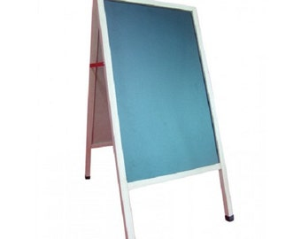 24 x 42 A-frame Chalkboard, Black Surface for Chalk, 2 Sided 19214