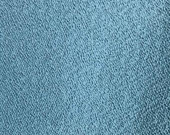 Beach Blue - Textured Upholstery Fabric Bu The Yard