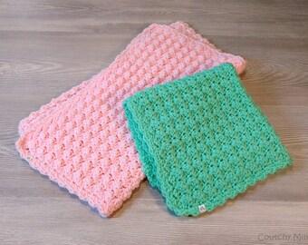 Baby security blanket baby crochet blanket baby blankie baby gift baby shower gift baby blanket boy baby blanket girl baby boy baby girl