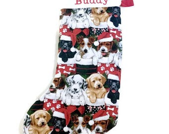 Custom Stocking for Dog - Personalized Dog Stocking - Personalized Pet Stocking - Christmas Dog Stockings Personalized - Dog Stocking