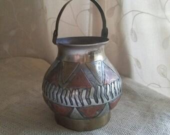Triangle Vase Etsy