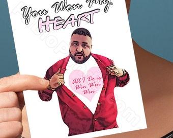 Marriage Card | Dj Khaled | Boyfriend One Year Anniversary Anniversary Gifts Happy Anniversary Card For Friend Husband Gift Boyfriend Gift
