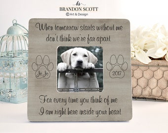 Pet Loss, Pet Memorial, Memorial Frame, Pet Memorial Frame, Cat Loss, Cat Memorial, Pet Sympathy Gift, Dog Loss Frame