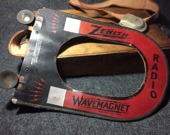 Vintage Zenith Radio WaveMagnet antenna