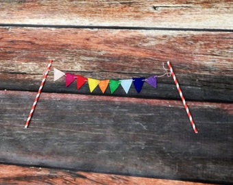 Cake Bunting: Birthday Cake Decor, Party Decor