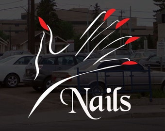 Nail Salon Sign Etsy