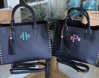 New!! 2 in 1 Totes-Monogrammed-Priority Mail Shipping!!