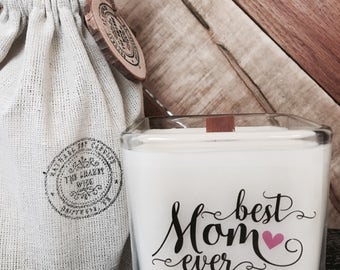 Best Mom Ever / Mother's Day Candle /Mom Gifts / Gift's For Mother's Day --- Please note; delivery will be after Mother's day