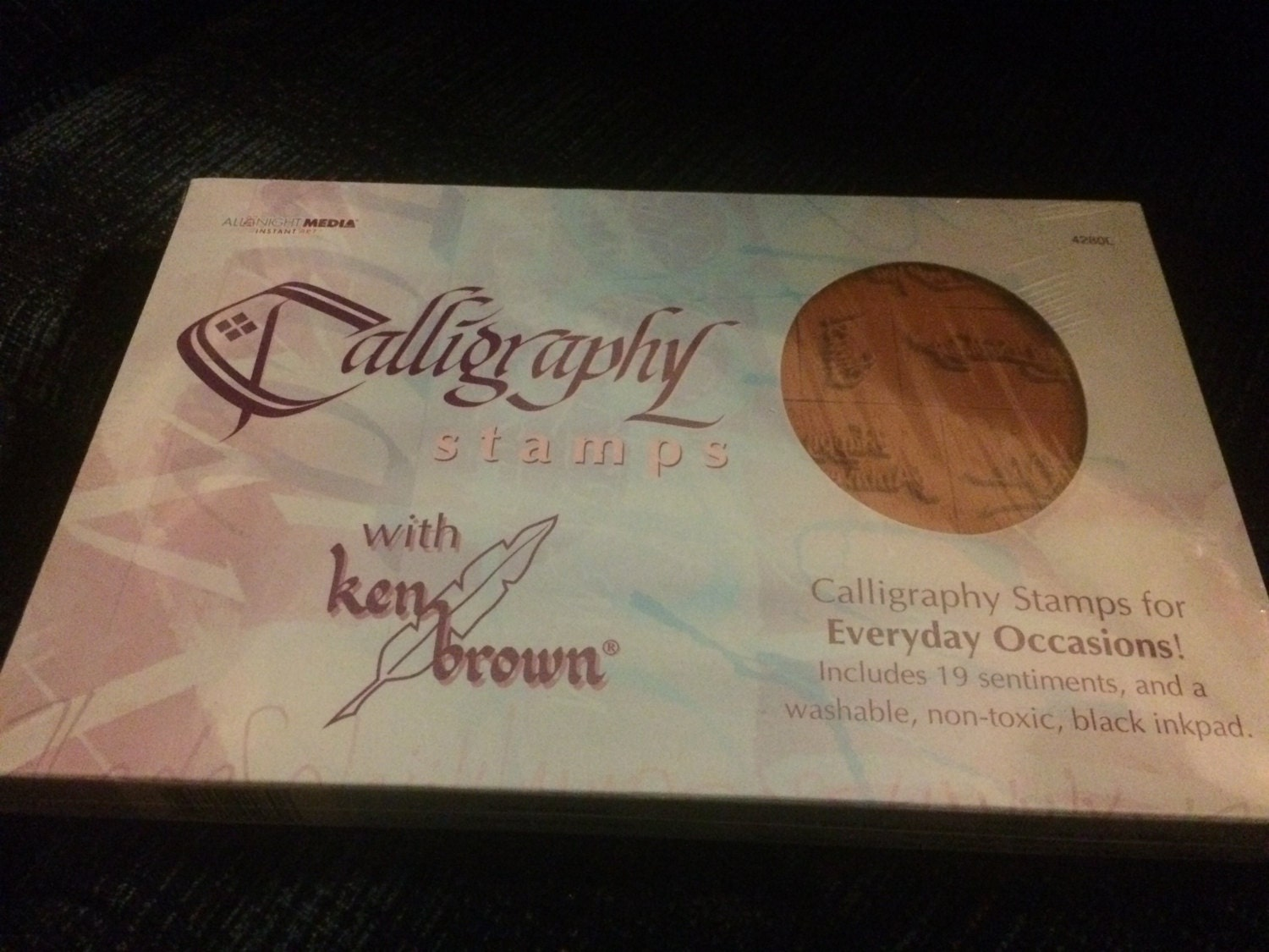 Calligraphy Stamp Set With Ken Brown Say It With Stamps Set
