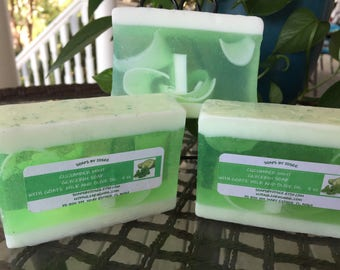 Cucumber Mint Glycerin soap