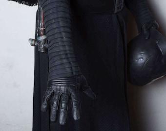 Star Wars KYLO REN under shirt with pleated sleeves an zipper