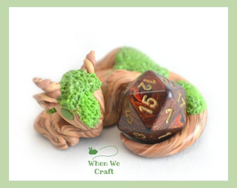 Made to Order - Moss Covered Dice Dragon
