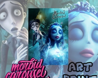 Corpse Bride Large A1 Poster Art Print Giclee