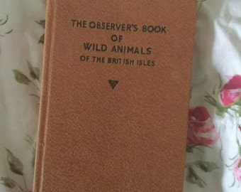 Vintage observer book , Wild Animals of the British Isles