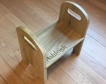 Childs step stool
