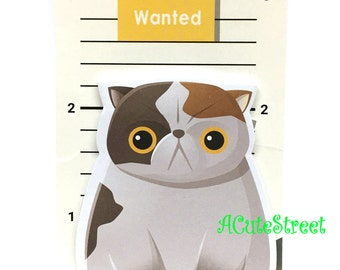 Momo Cat Post IT Notes Sticky Memo SM083122