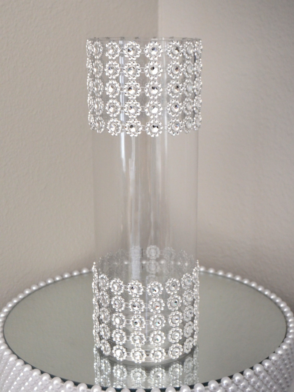 Rhinestone Vase Wedding Centerpiece Vase Bling Vase