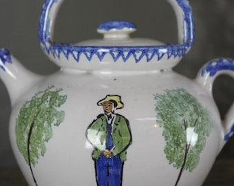 Quimper Teapot