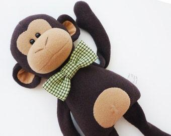Monkey toy 38 cm (15 inch), monkey plush doll, stuffed toys, Stuffed animals toy