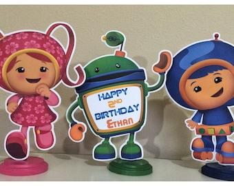 Team Umizoomi Centerpieces, Team Umizoomi Birthday Party Centerpieces
