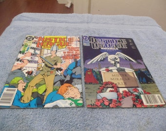 2/ 1990 Justice League Comic Books