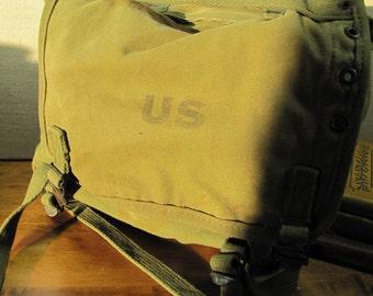 Vintage Army Knapsack