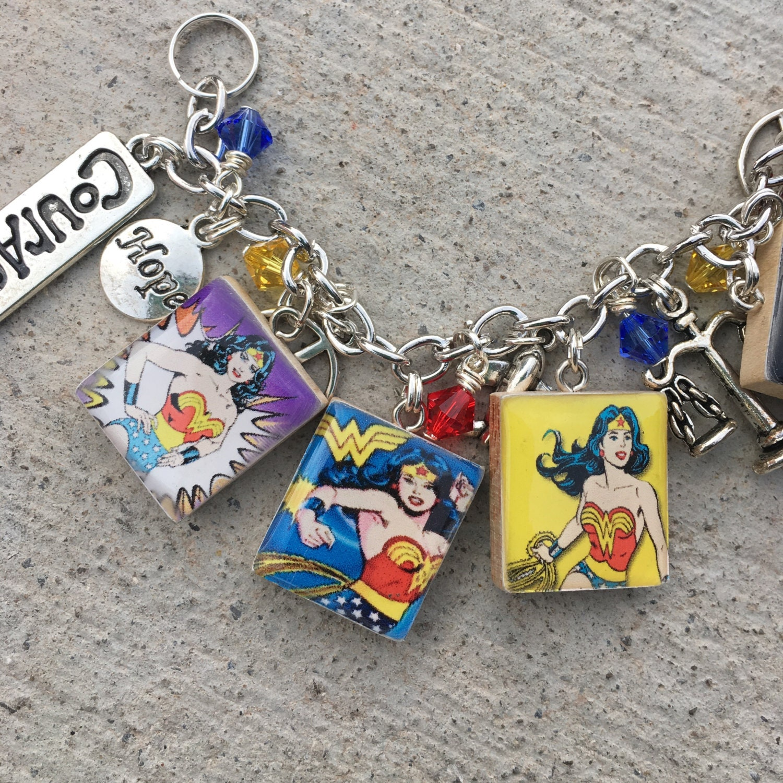 wonder woman bracelet wonder woman jewelry superhero. Black Bedroom Furniture Sets. Home Design Ideas