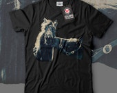Animal Friendship Horse Beauty Men Black White Grey Red Royal Blue Tshirt S5XL NEW  Wellcoda y2146