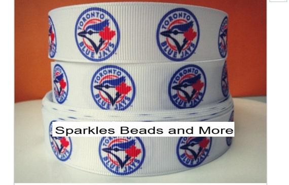 Basket Weaving Supplies Toronto : Quot grosgrain ribbon baseball toronto blue jays yards