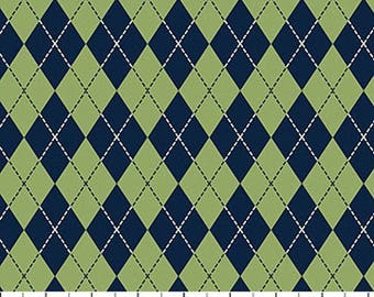 On The Green Argile Fabric from Northcott by the yard