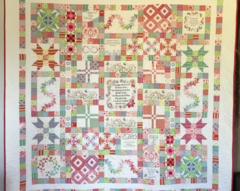 Courage Quilt - Block of the Month - Block 2