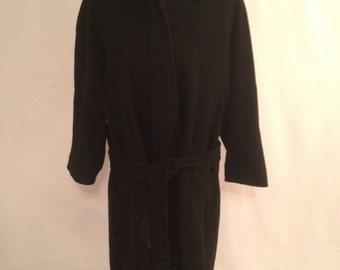 Rhapsody WEINBERG Coat size 42 Long Duffle coat wool cashmere
