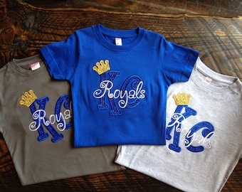 Girl's Royals Bling Top - Royals Crown