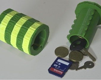 Cryptic Combination Safe Lock Box