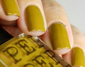 Mustard Yellow Nail Polish 5 Free Bombshell Makeup Bath Beauty Gift For Her Gift Under 20 Pepper Pot Polish
