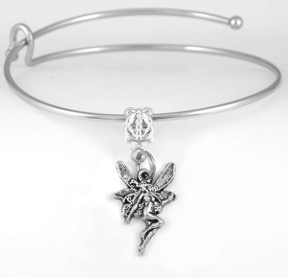 Tinkerbell Charm Bracelet: Fairy Bracelet Fairy Charm Bracelet Tinkerbell Type Charm