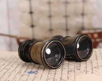 1900s binoculars - Antique binoculars - Theatre glasses - Old binoculars - Binoculars early 1900s - Brass opera theatre glasses - Gift idea