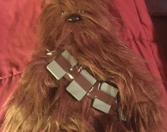 Vintage Star Wars 1978 Plush Chewbacca the Space Wookiee stuffed animal Kenner 40th Anniversary 1977
