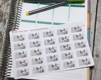 Book Club  Stickers
