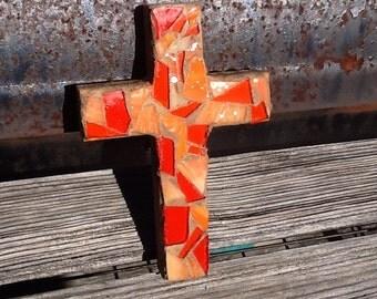 Ex small mosaic cross