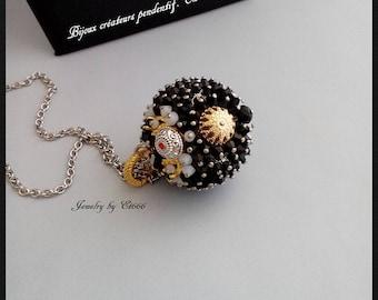 Jewelry creators crystal pendant. In 4 elegance