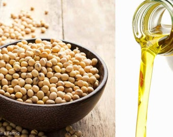 100% Pure and Organic All Natural Soybean Oil