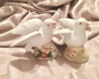 Vintage Pair of Dove - Dove in Love