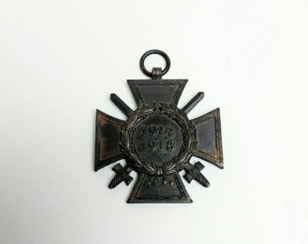 Hindenburg Cross WOI honorary cross medal