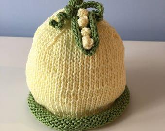 Yellow Peopod Hat