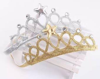 Headband crowns